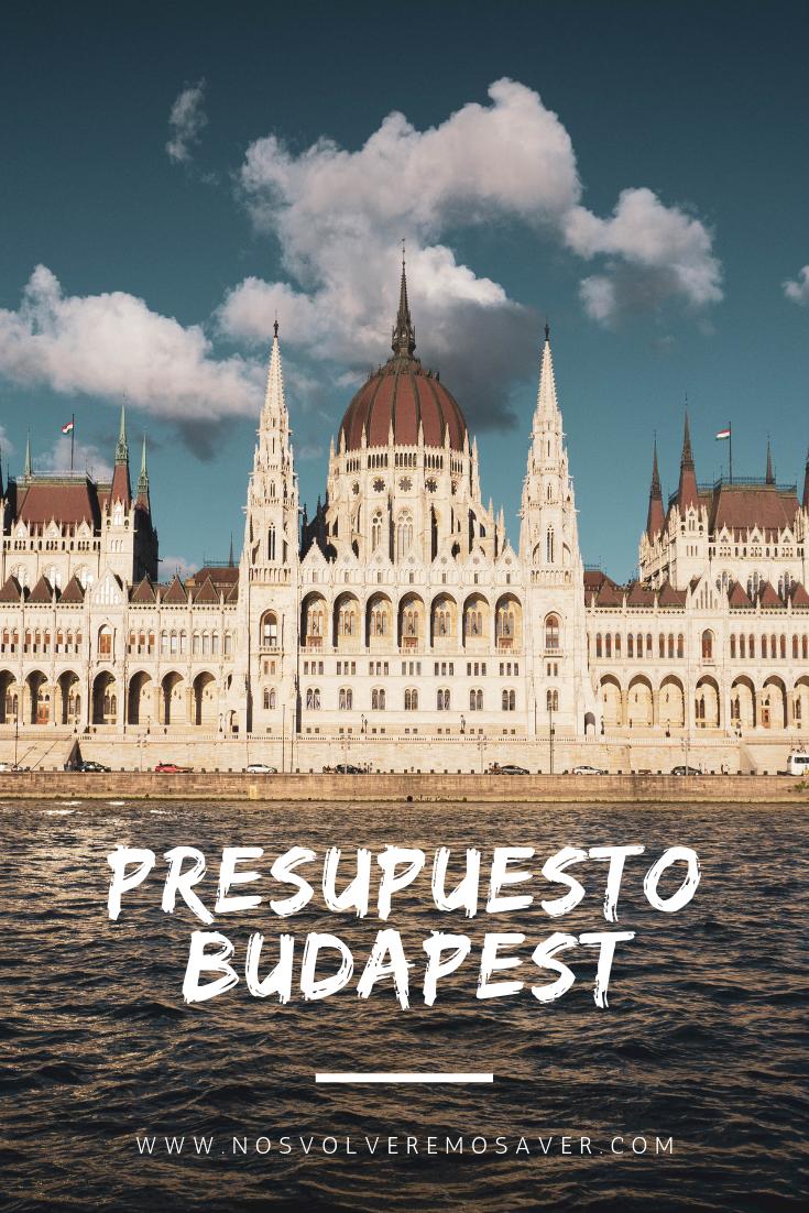 Presupuesto Budapest 4 dias