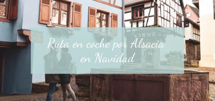 RUTA COCHE ALSACIA NAVIDAD